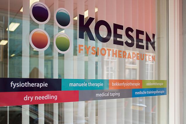 Fysiotherapie Koesen praktijk voorgevel closeup